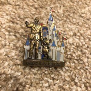 Walt and Mickey pin